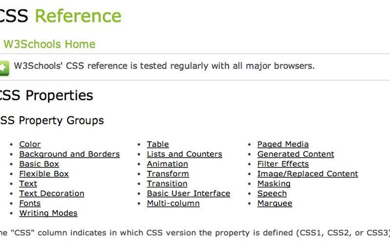 Скриншот 1 программы W3Schools
