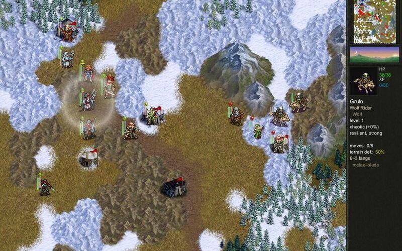 Скриншот 1 программы The Battle for Wesnoth