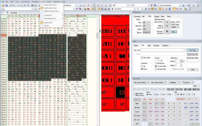 Скриншот 1 программы Hex Edit