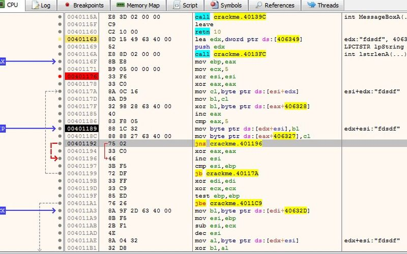 Скриншот 1 программы x64_dbg