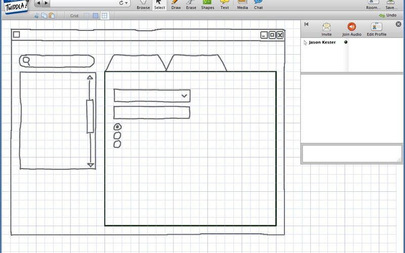 Скриншот 1 программы Twiddla