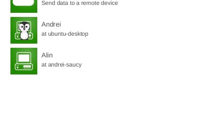 Скриншот 1 программы Dukto R6