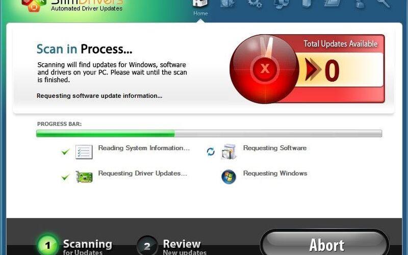 Скриншот 1 программы SlimDrivers