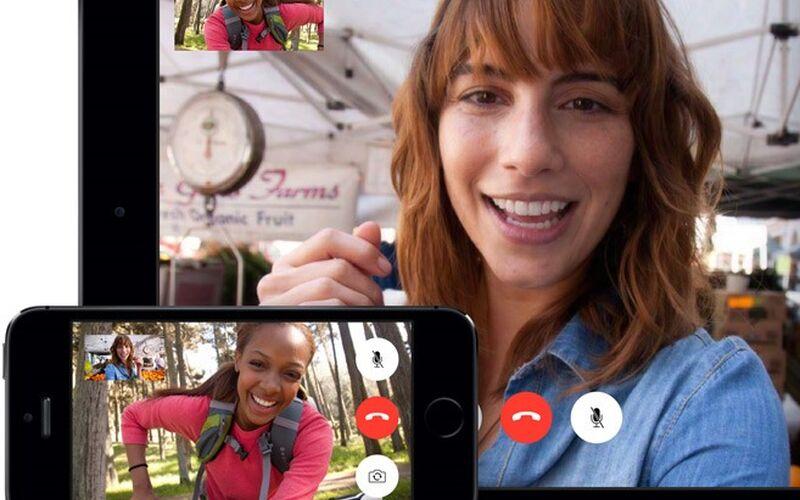 Скриншот 1 программы FaceTime