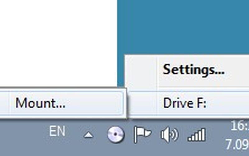 Скриншот 1 программы Virtual CloneDrive