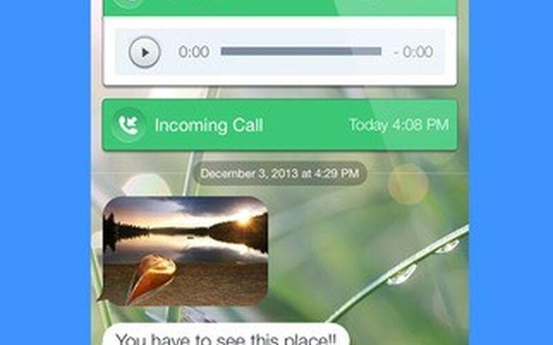 Скриншот 1 программы TextNow