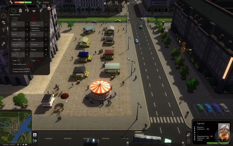 Скриншот 1 программы Cities In Motion