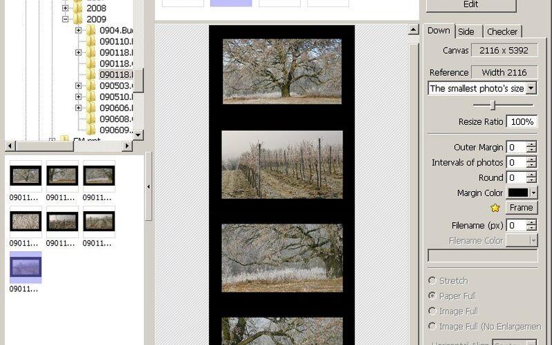 Скриншот 1 программы Photoscape