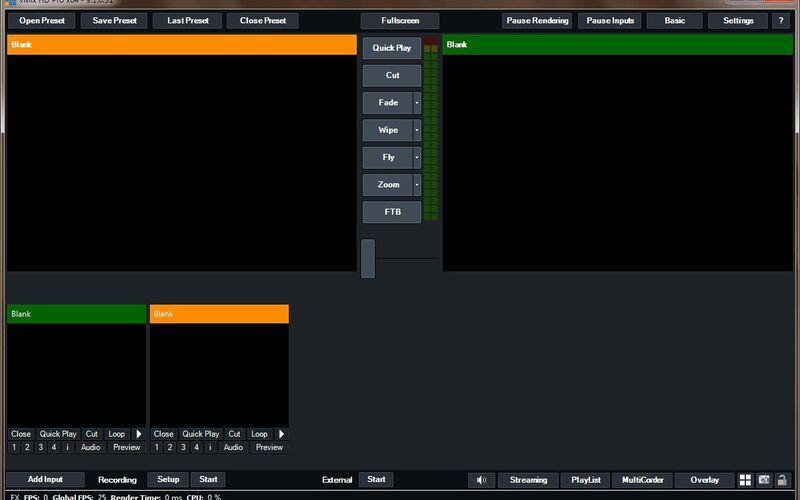 Скриншот 1 программы vMix