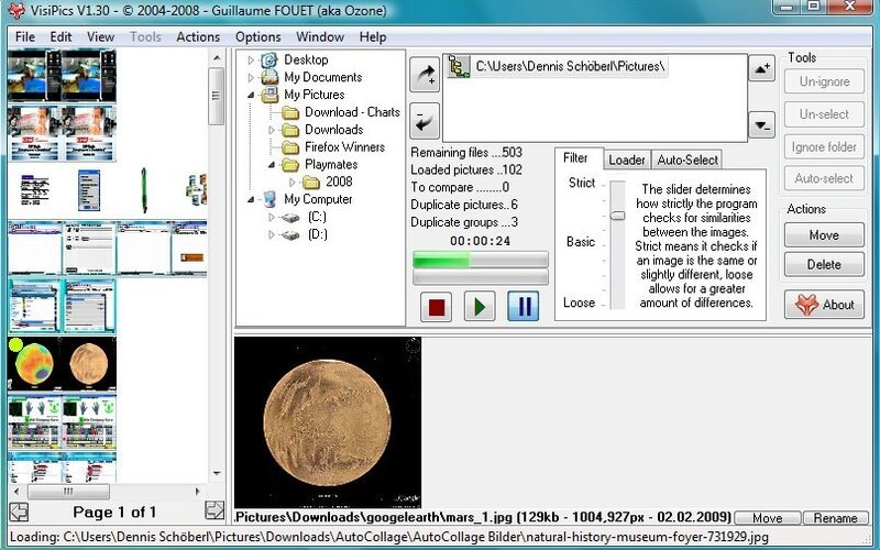 Скриншот 1 программы VisiPics