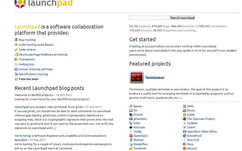 Скриншот 1 программы Launchpad