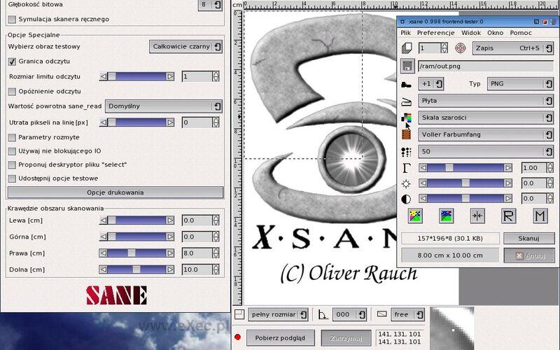 Скриншот 1 программы XSane