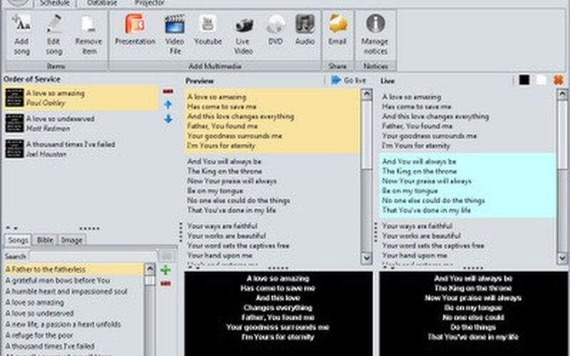 Скриншот 1 программы Quelea