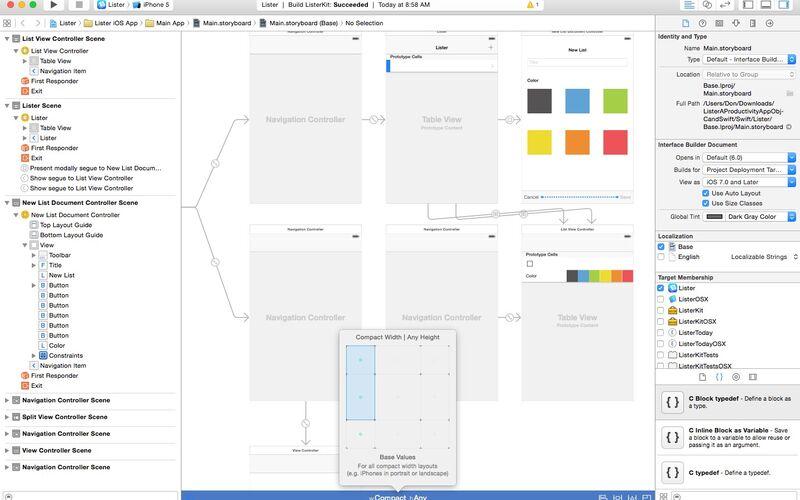 Скриншот 1 программы Xcode
