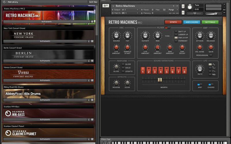 Скриншот 1 программы Kontakt