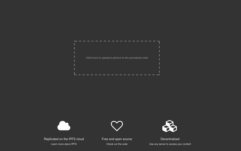 Скриншот 1 программы ipfs.pics