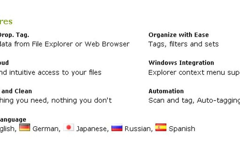 Скриншот 1 программы TaggedFrog