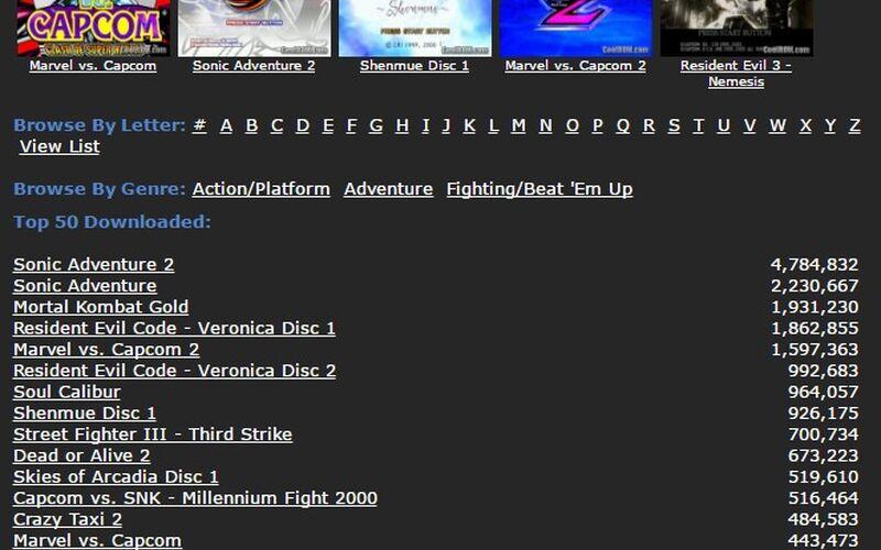 Скриншот 1 программы CoolROM