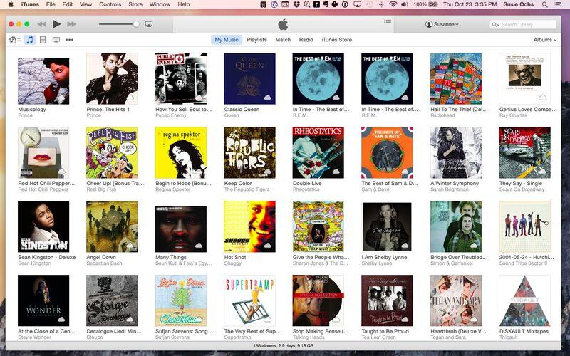 Скриншот 1 программы iTunes