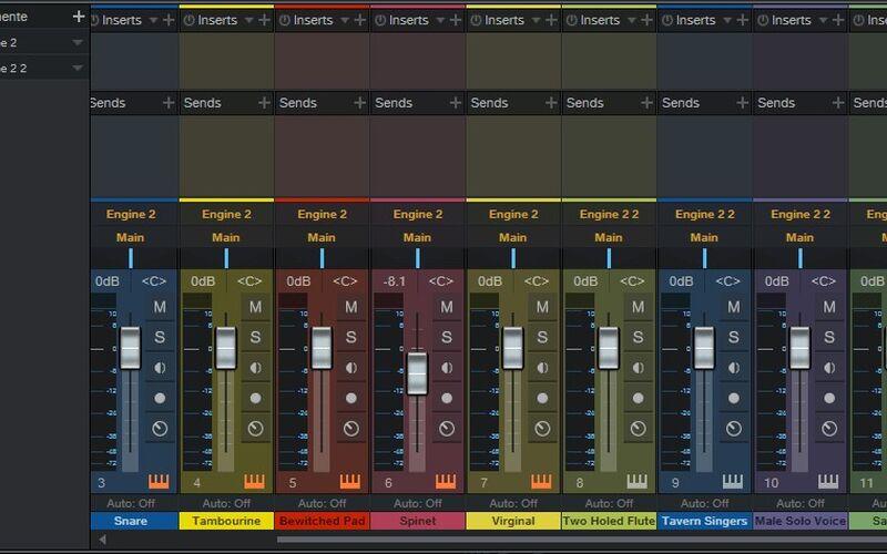 Скриншот 1 программы Studio One