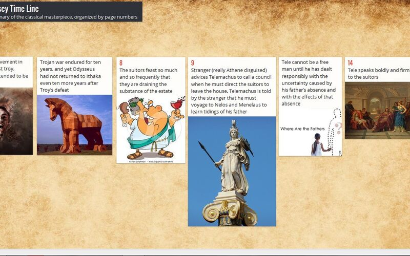 Скриншот 1 программы Padlet