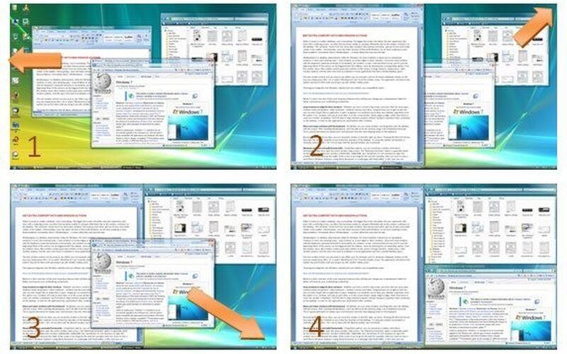 Скриншот 1 программы WindowSpace