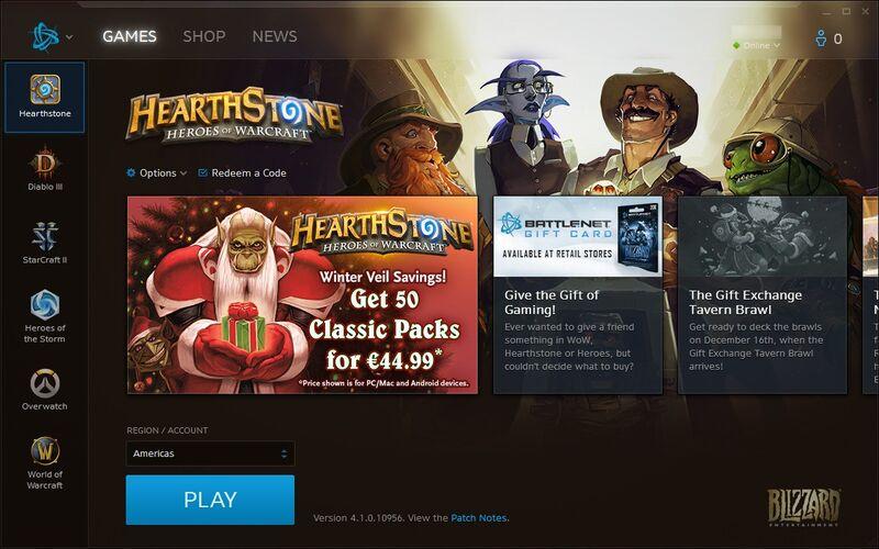 Скриншот 1 программы Battle.net App