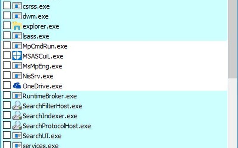 Скриншот 1 программы simplewall
