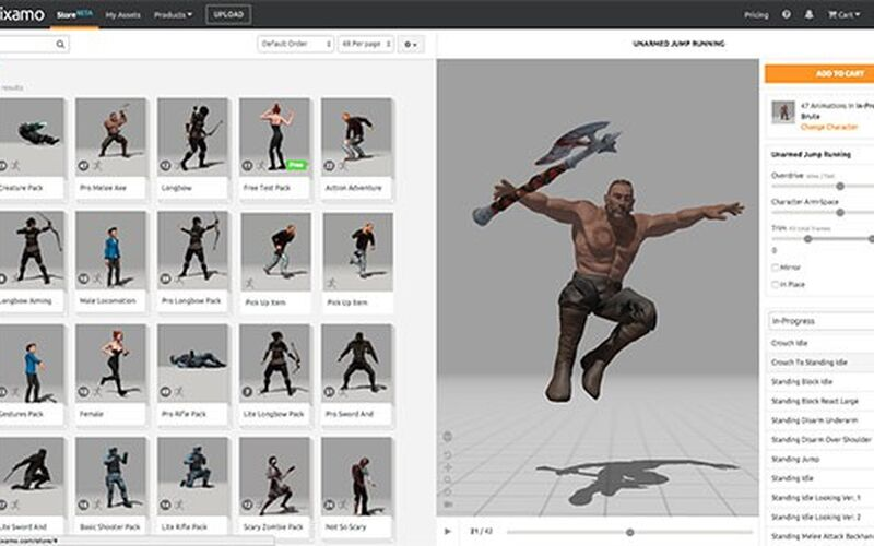 Скриншот 1 программы Adobe Fuse CC