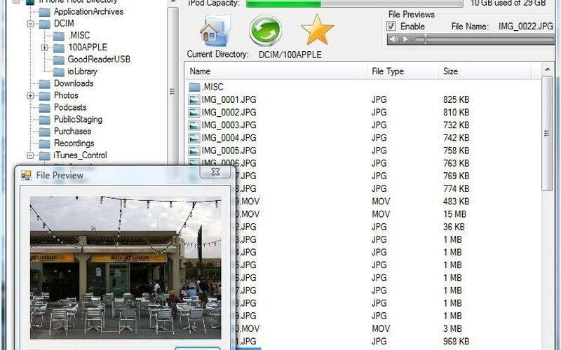 Скриншот 1 программы iExplorer