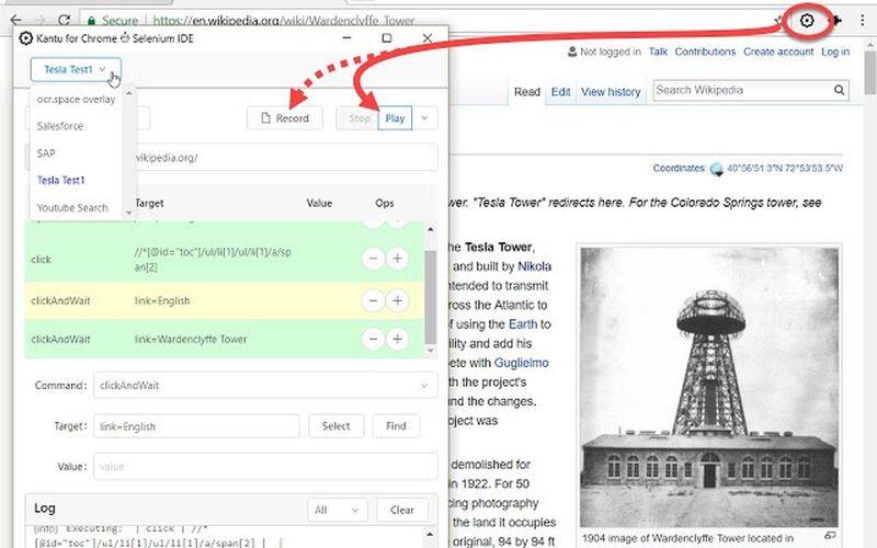 Скриншот 1 программы Kantu for Chrome