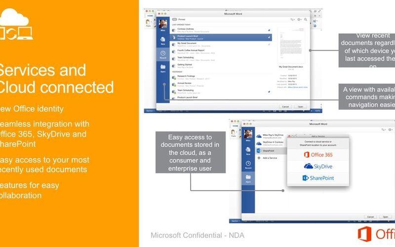 Скриншот 1 программы Microsoft Office Suite