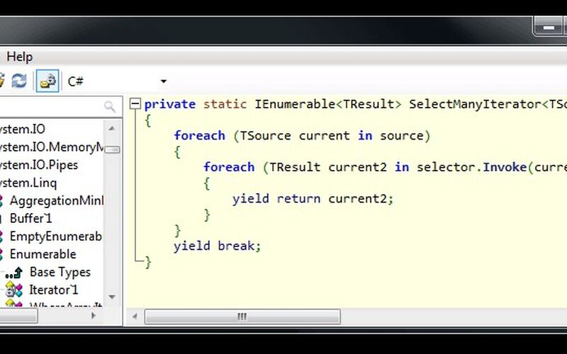 Скриншот 1 программы ILSpy