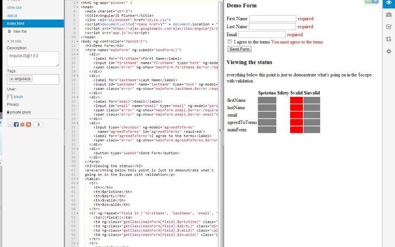 Скриншот 1 программы Plunker
