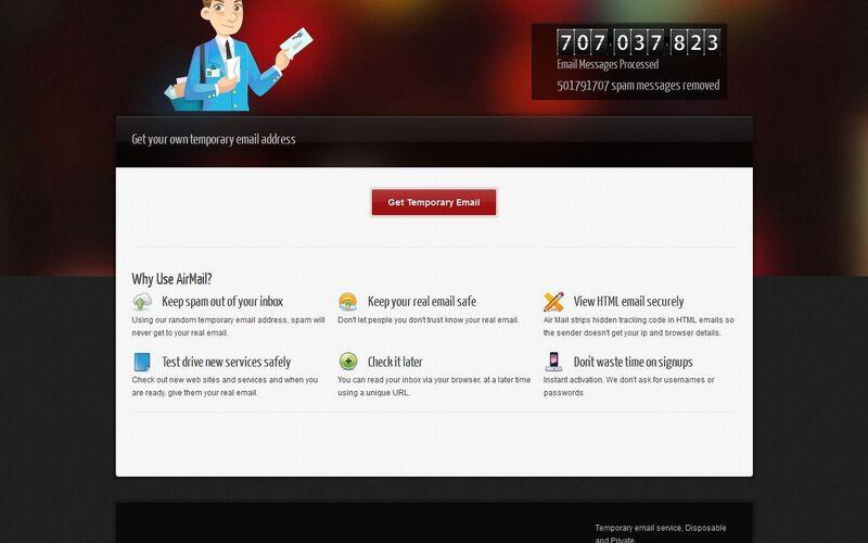 Скриншот 1 программы Air Mail