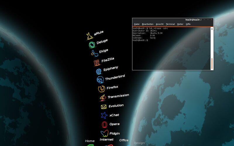 Скриншот 1 программы Cairo-Dock