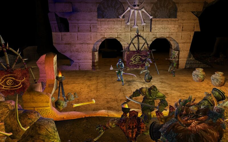 Скриншот 1 программы Dungeon Siege 2