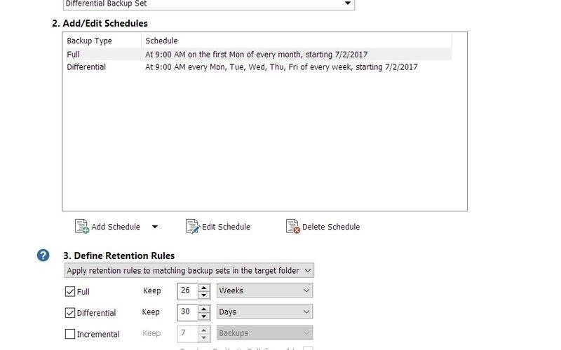 Скриншот 1 программы Macrium Reflect