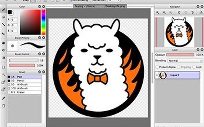 Скриншот 1 программы FireAlpaca