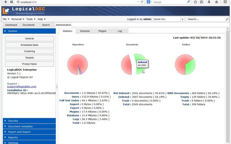 Скриншот 1 программы LogicalDOC