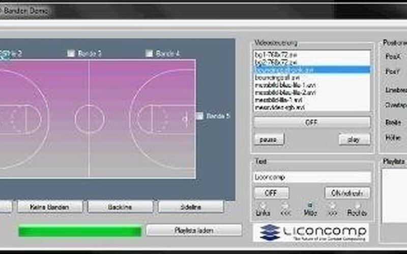 Скриншот 1 программы Liconcomp