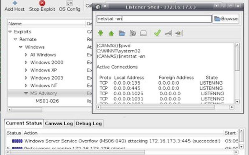 Скриншот 1 программы Immunity Debugger
