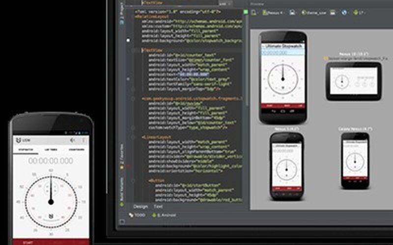 Скриншот 1 программы Android Studio