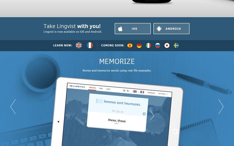 Скриншот 1 программы Lingvist