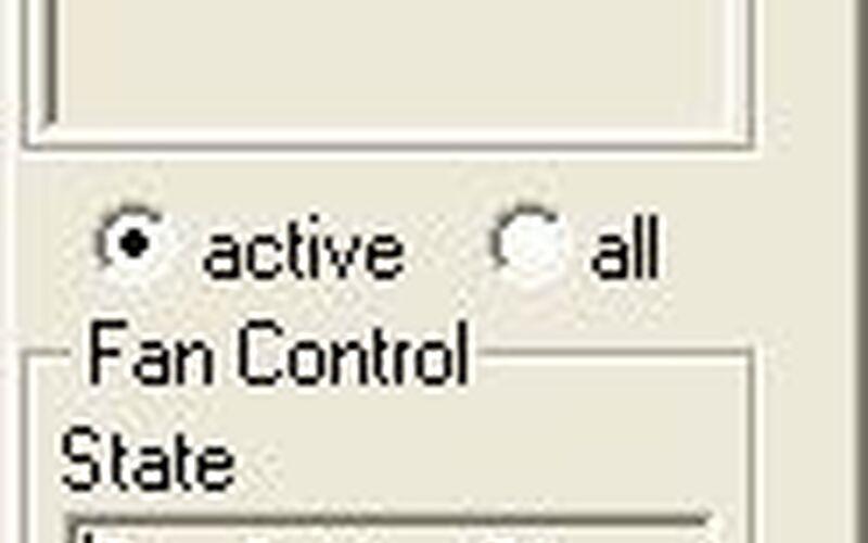 Скриншот 1 программы TPFanControl