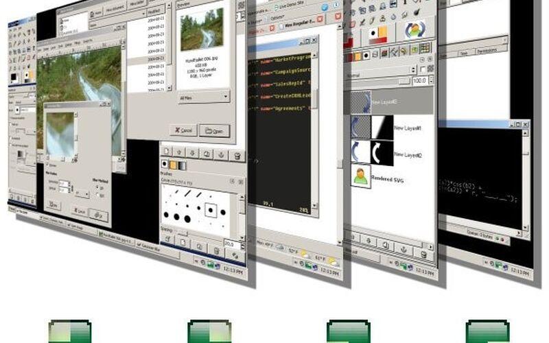 Скриншот 1 программы VirtuaWin
