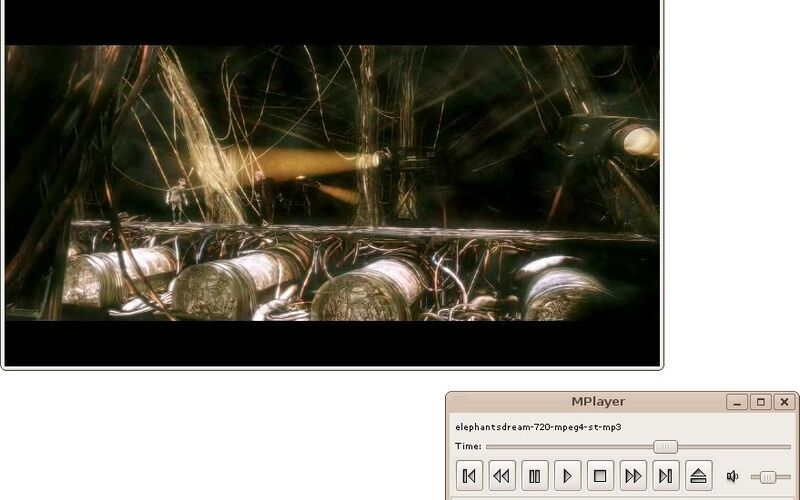 Скриншот 1 программы MPlayer