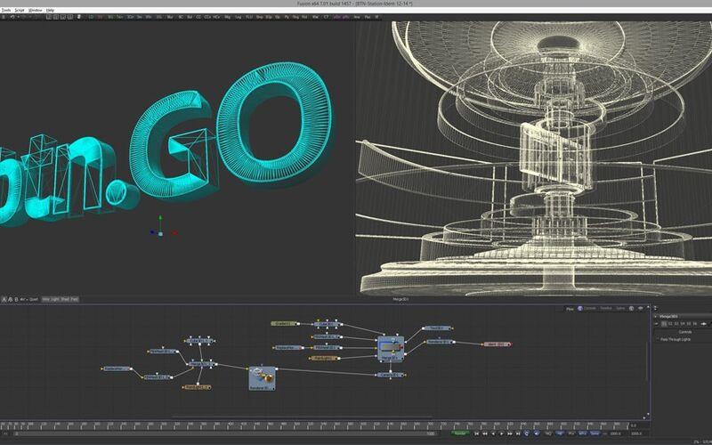 Скриншот 1 программы Blackmagic Design Fusion