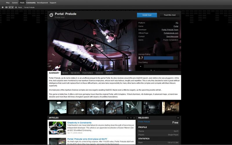 Скриншот 1 программы Desura