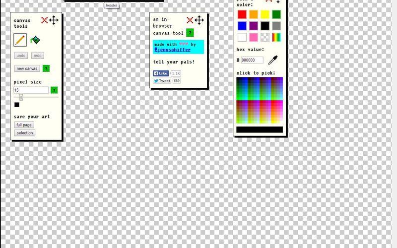 Скриншот 1 программы make 8-bit art